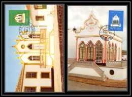 Portugal - ACORES - Carte Maximum (card) 1764 - N° 343/44 EGLISES CHURCH CHAPELLES - Maximumkarten (MC)