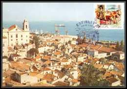 Portugal - Carte Maximum (card) 1785 - N° 1476 Lisbonne St Vincent - Maximumkarten (MC)