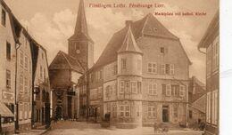 CP 57 Moselle Fénétrange Lorraine Finstingen Marktplatz Mit Kathol Kirche - Fénétrange