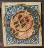 SPAIN 1865 - Canceled - Sc# 69 - 12c - Oblitérés