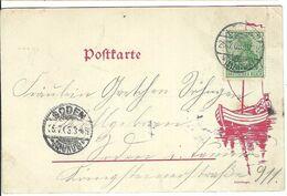 ALLEMAGNE 1903: CP Illustrée De Hochst Pour Soden Affr. à 5 Pf. - Germany