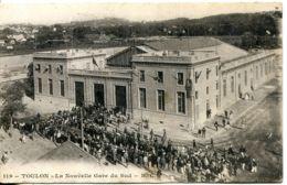 N°2531 R -cpa Toulon -la Nouvelle Gare Du Sud- - Stations Without Trains