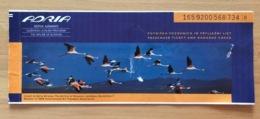 ADRIA AIRWAYS TICKET 12SEP99 LJUBLJANA VIENNA - Tickets