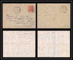 1559/ France Entier Enveloppe Militaire Lac 8 Pages Semeuse 10c Ceyzériat Ain Pour Fontenay-le-Comte Vendé 1907 - Biglietto Postale