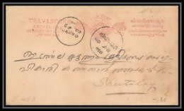 1874/ Inde (India) Travancore Entier Stationery Carte Postale (postcard) N°1 1888 - Travancore