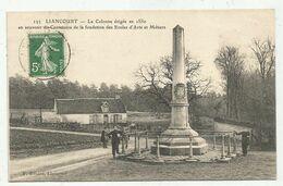 Liancourt (60-Oise)  La Colonne Des Arts Et Métiers - Liancourt
