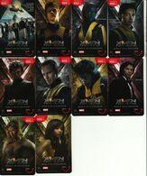 10 X Thailand Phonecard Happy DPrompt Movie Film Cinema X - MEN - Film