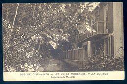 Cpa Du 80  Bois De Cise Sur Mer Les Villas Modernes  - Villa Du Bois     AVR20-67 - Bois-de-Cise