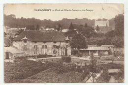 Liancourt (60-Oise) Ecole De L'Ile De France - Le Potager - Liancourt