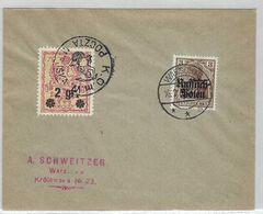 ALLEMAGNE 1916: LSC De Varsovie Intra Muros, Affranchissement Mixte Allemand De 3 Pf. Et Complémentaire Polonais De 2gr. - Germany