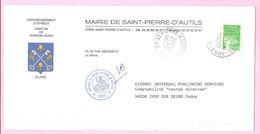 LUQUET  1997 - N°3091 - 2 F.70 . Vert Sur Lettre De Mairie 27950 SAINT-PIERRE-D'AUTILS. - 1997-04 Marianne (14. Juli)