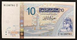 Tunisia 10 Dinara 2005 UNC  LOTTO 1575 - Tunisia