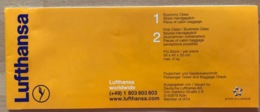 LUFTHANSA TICKET 20JUL99  FRANKFURT EKATERINBURG FRANKFURT - Tickets