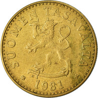 Monnaie, Finlande, 20 Pennia, 1981, TTB, Aluminum-Bronze, KM:47 - Finlandia