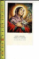 KL 7292 - SAINTE APOLLINE - Devotion Images