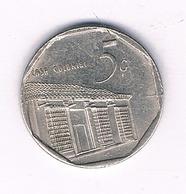5 CENTAVOS 2000 CUBA /6004/ - Cuba