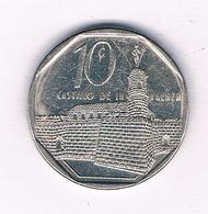 10  CENTAVOS 2000 CUBA /6005/ - Cuba
