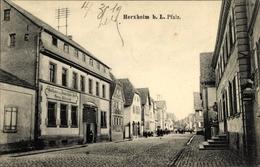 Cp Herxheim In Der Südlichen Weinstraße, Gasthaus Zum Bayrischen Hof, Inh. Georg Eichenlaub, Straße - Germania