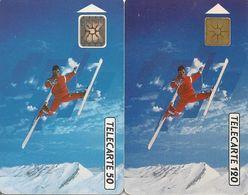 Télécartes Saut Acrobatique F222 Et F223 1991 - France