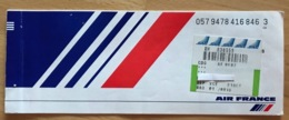 AIR FRANCE TICKET 21OCT97 VENICE NICE PERPIGNAN MONTPELLIER NICE - Tickets