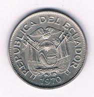 UN SUCRE 1970 ECUADOR /6010/ - Ecuador