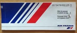 AIR FRANCE TICKET 22JAN99 VENICE PARIS LISBON PARIS VENICE - Tickets