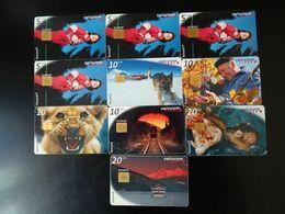Lot 10 Télécartes Suisse - Switzerland