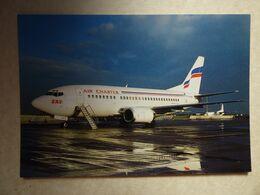 AIR CHARTER  B 737 500   F-GHXM - 1946-....: Ere Moderne