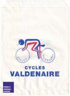 Rare Pochette Papier Cycles Valdenaire - Remiremont Vosges - Thèmes Publicité Vélo Cycle Cycliste Sport Ephemera GF1 - Old Paper