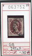 Grossbritannien - Great Britain - Grand Bretagne - Michel 295 XX - O Oblit. Used Gebruikt - 1952-.... (Elisabetta II)
