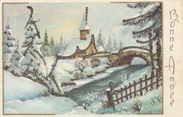Mignonnette - Bonne Année - Paysage Brillants - Nouvel An