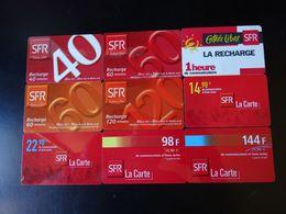 Lot 9 Cartes SFR - Frankreich
