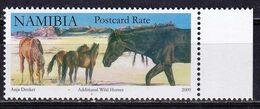 Namibia 2009 Fauna Wild Horses 1v MNH - Horses