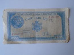 J596.1  Romania  5000 Lei  1945 - Roumanie