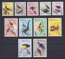 PAPUA NEW GUINEA 1964, SG# 61-71, Birds, MNH - Papúa Nueva Guinea