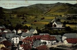 Cp Neuenweg Kleines Wiesental Badischer Schwarzwald, Blick Auf Den Ort, Kirche - Otros