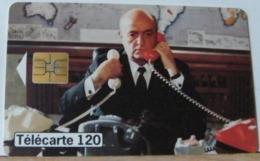 FR443 - FRANCIA 120 UNITA - TELEPHONE ET CINEMA - JE NE SAIS RIEN MAIS JE DIRAI TOUT - SCADENZA  02/99  N° A92495678 - 1999