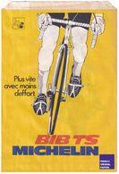 Rare Pochette Papier Michelin M38S BIB TS -thèmes Publicité Vélo Moto Cycle Cycliste Sport Pneu Pneumatique Ephemera GF1 - Old Paper