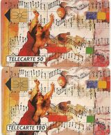 Télécartes Baroque  F181 Et F182 1991 - France