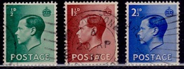 Great Britain, 1936, Edward VIII, Sc#230-233, Used - 1902-1951 (Kings)