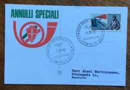 AUTOMOBILISMO - A.C.LIVORNO RALLYE DELL'ELBA 2/10/69   - ANNULLO SPECIALE - Automobile