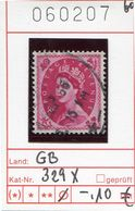 Grossbritannien - Great Britain - Grand Bretagne - Michel 329x  -  Oo Oblit. Used Gebruikt - 1952-.... (Elisabetta II)