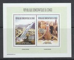 BLOC NEUF DE REP. DEM. DU CONGO - CONCORDE N° COB 294 - Concorde