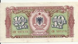 ALBANIE 10 LEKE 1957 AUNC P 28 - Albania
