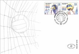 2019 FDC, Sport, Volleyball, Bosnia And Herzegovina - Bosnia And Herzegovina