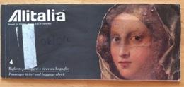 ALITALIA TICKET 21JUL98 TRIESTE MILAN BARCELONA PALMA DE MALLORCA BARCELONA - Tickets