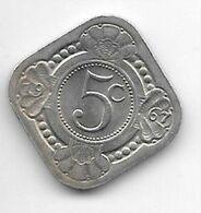 Netherlands Antilles 5 Cent  1967  Km 6  Unc/ms63 - Antillen (Niederländische)