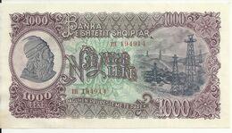 ALBANIE 1000 LEKE 1957 UNC P 32 - Albania