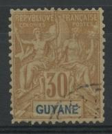 Guyane (1892) N 18 (o) - Guyane Française (1886-1949)