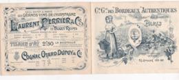 EXCEPTIONNEL TARIFS GRANDS CRUS BORDEAUX 1877 A 1896 !!! CIE GENERALE DES BORDEAUX AUTHENTIQUES !! - Alcohols